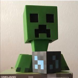 Minecraft Creeper & Diamond Ore Plastic Decor